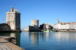 Les Deux tours port de La Rochelle