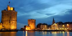 Vieux port La Rochelle de nuit
