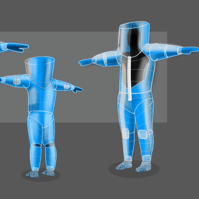 G-1 : An Inflatable Suit
