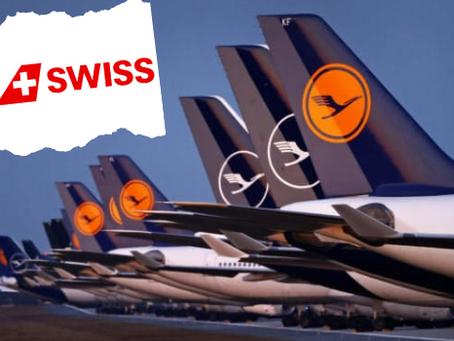 ルフトハンザ航空/スイス航空                                       2月1日より搭乗の際に「医療用マスク」のみ許可!   一般マスクはNG!