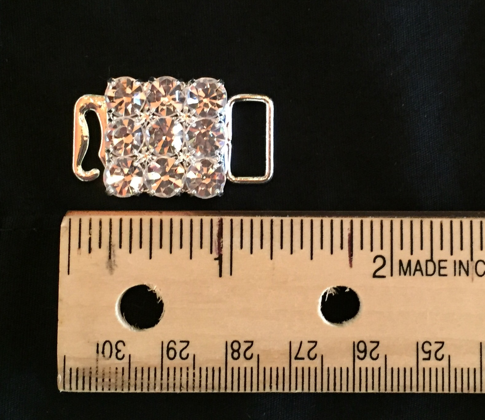 Swan Hook SS30 crystal stone