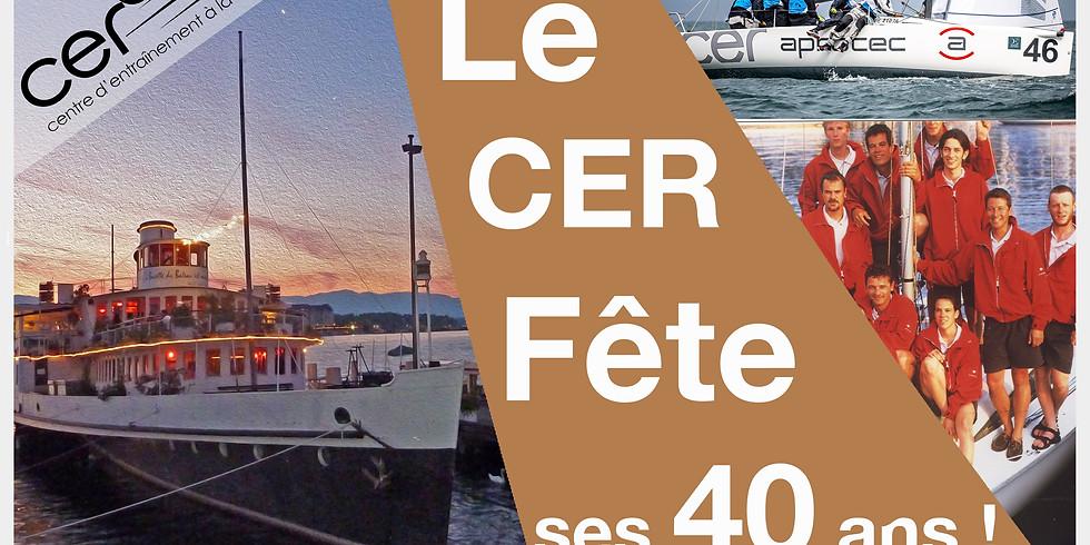 Fête & repas de soutien, 40 ans du CER - 8 octobre 2021