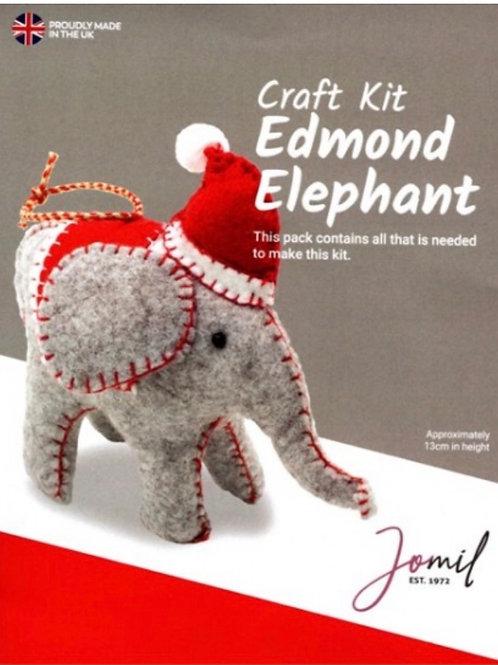 Elephant felt animal kit