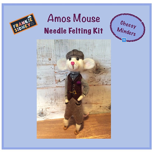 Amos Cheesy Minder Felting Kit