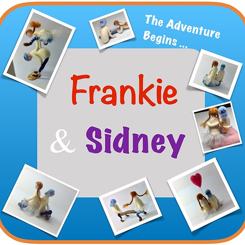 Frankie and Sidney Characters Needle Felting Kit