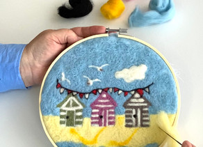 New 2D felted art kits released