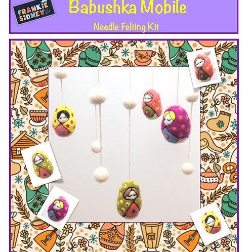 Babushka Doll Mobile Needle felting Kit