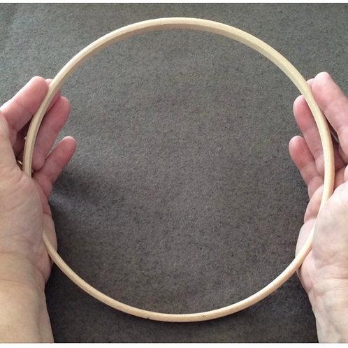 Wooden Hoop 8 inch diameter