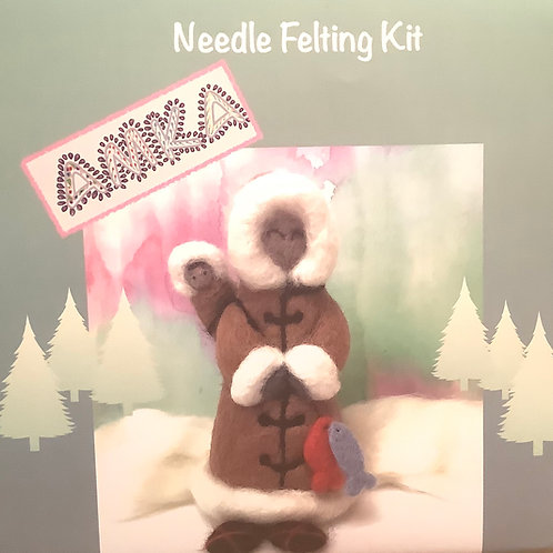 Amka needle felting kit