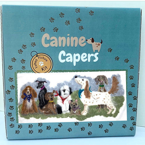 Canine Capers 2 D Felting kit