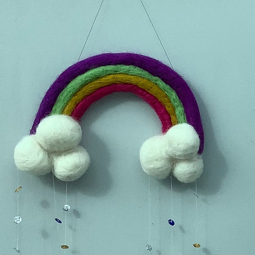 Rainbow and Cloud Decoration