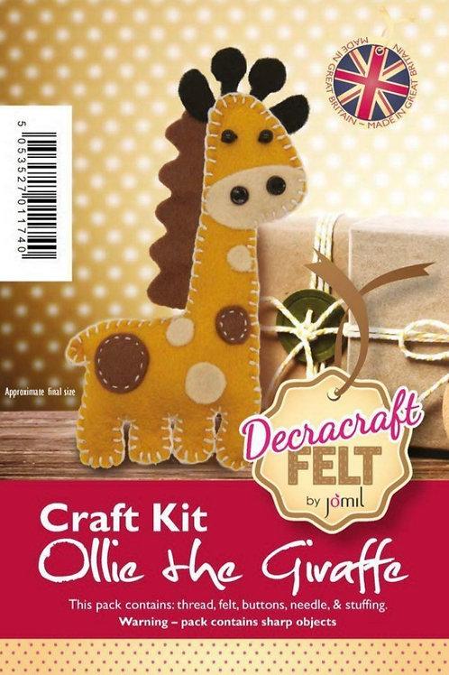 Giraffe felt kit