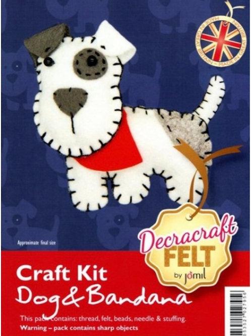 Felt puppy dog kit