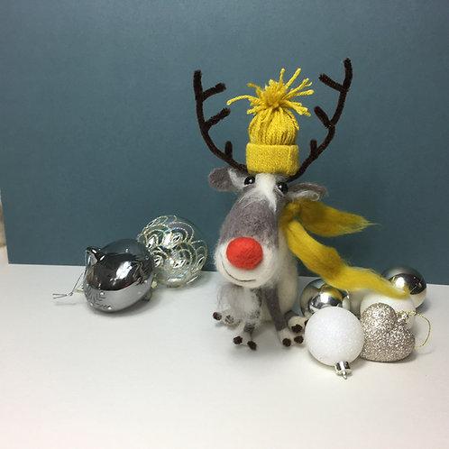 Rudi Reindeer Needle Felting Kit
