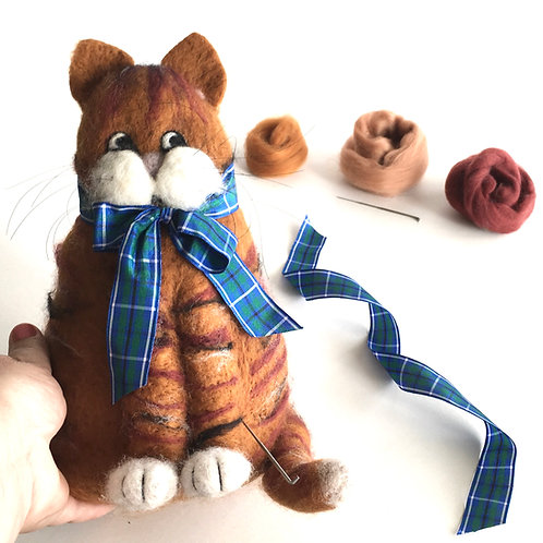 Tommy Door Stop Needle Felting Kit