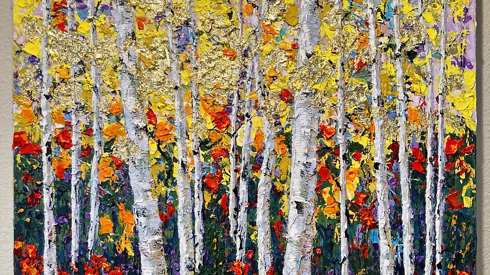 Golden Forest of Dreams 24x30