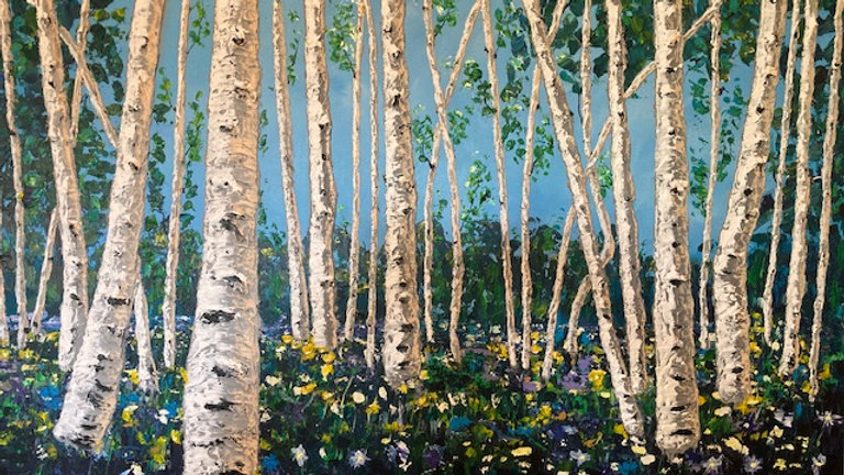 Spring Meadow 36x48