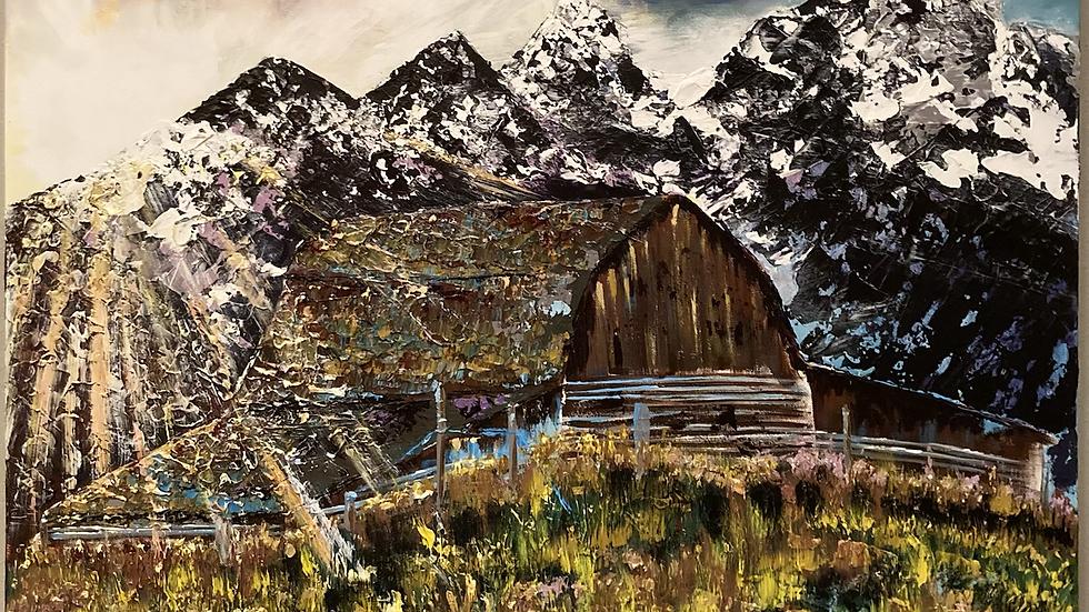 Wyoming Barn 36x36