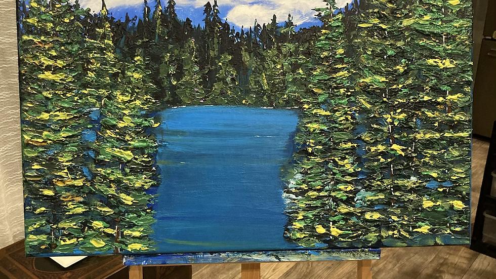Clear Lake 24x30