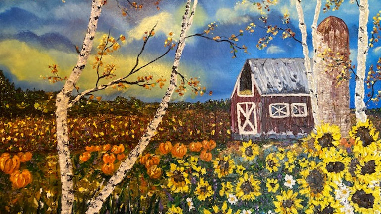 Country Harvest 24x30