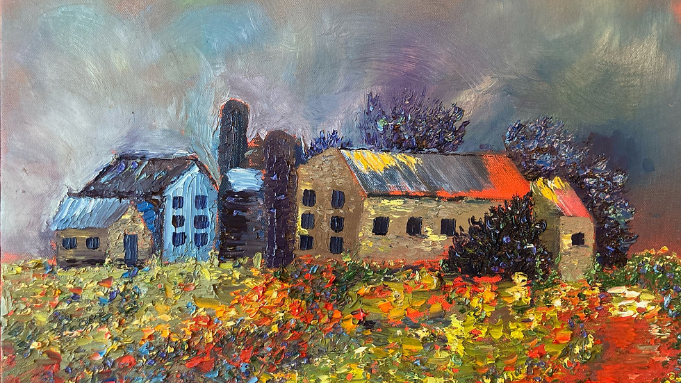 An English Countryside 16x20