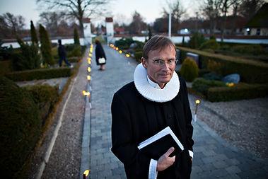 Poul Joachim Stender foredragsholder og præst