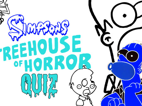 The Treehouse of Horrors Quiz