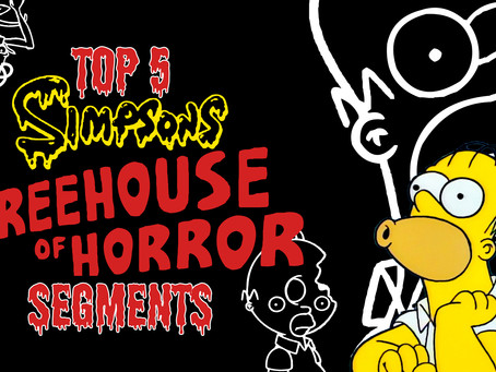 TOP 5 Treehouse of Horrors Segments