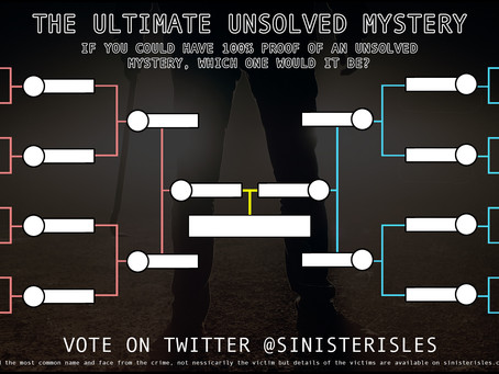 THE ULTIMATE UNSOLVED MYSTERY VOTE!