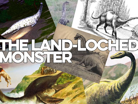 The Loch Ness Monster has been spotted on land - here's the proof
