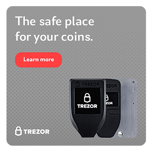 Trezor hardware wallets presented by Second Chance