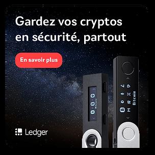 Portefeuilles Ledger Nano S et X par Second Chance