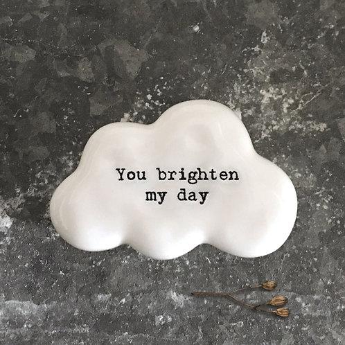 Cloud token -you brighten my day