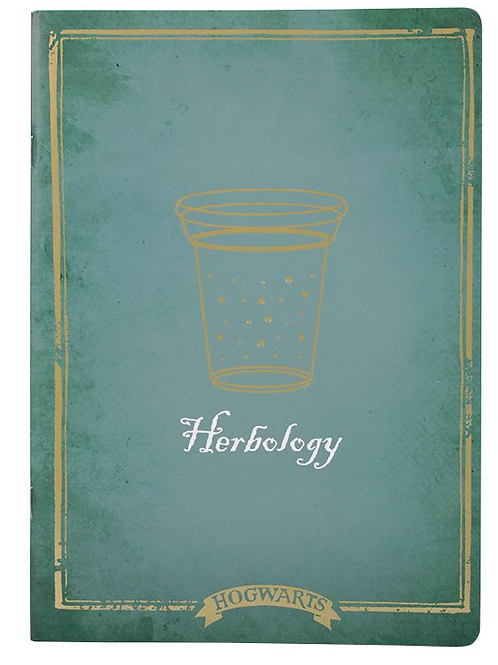 Harry Potter Herbology Exercise Book
