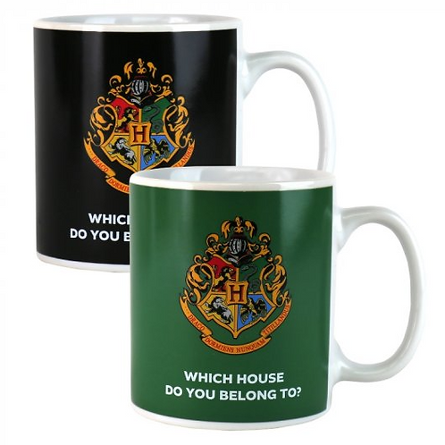 Harry Potter House Reveal Heat Changing Mug