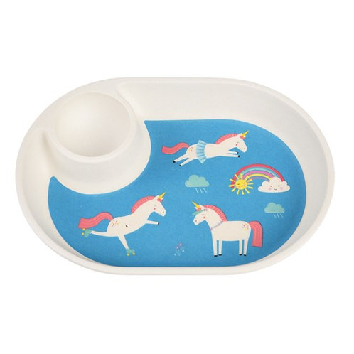Unicorn egg plate
