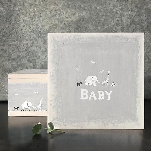 East of India Baby Memory Keepsake Box