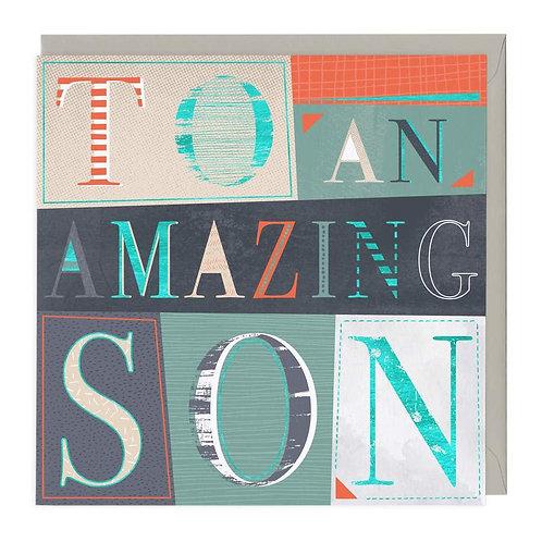 Amazing Son Card