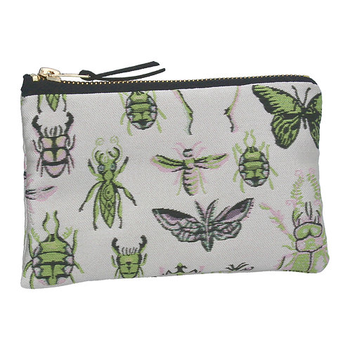 Jacquard purse insects