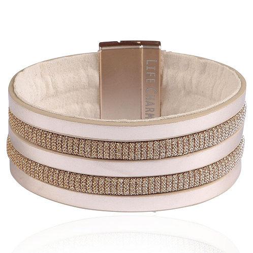 Light Brown Wrap Bracelet