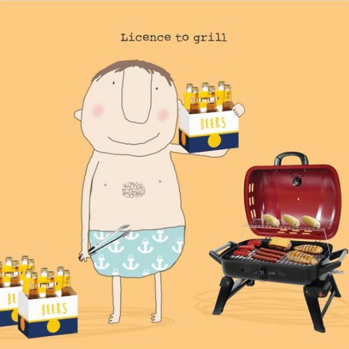 Licence to grill