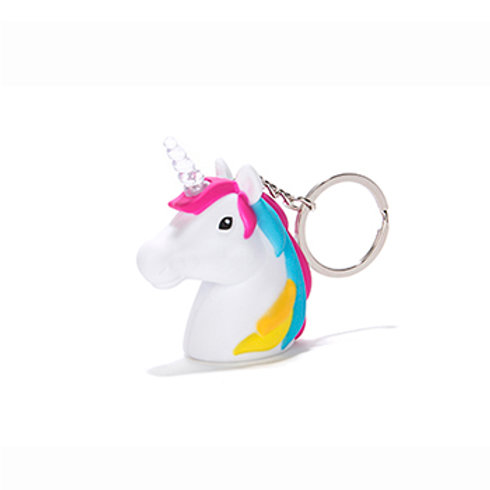 Unicorn LED Keyring