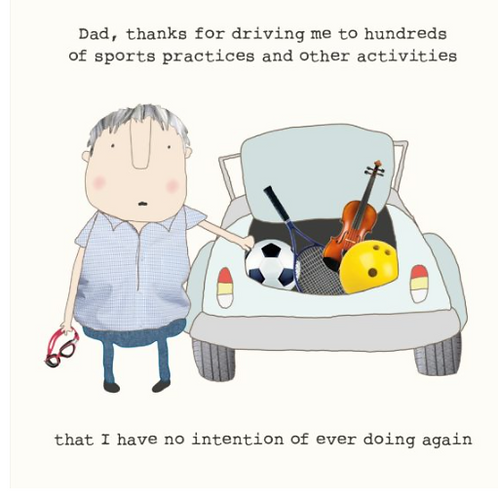 Driving Dad Card