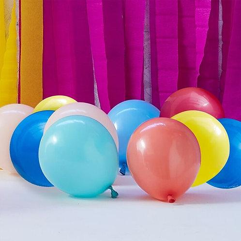 Multicoloured Balloon Mosaic Balloon Pack