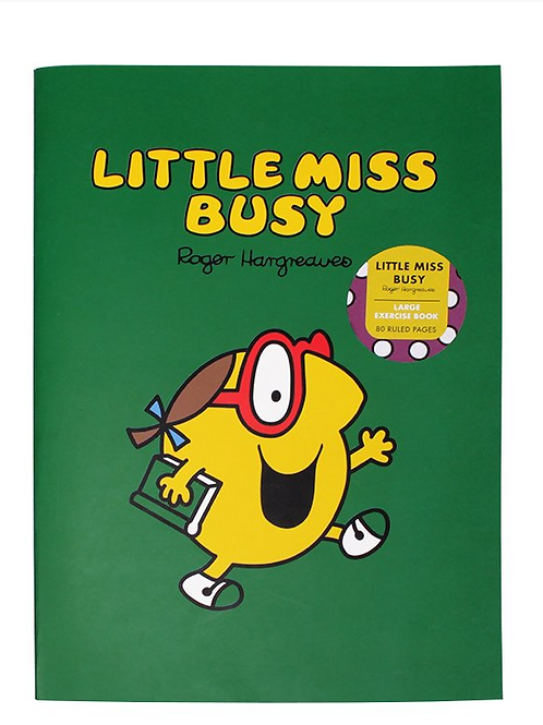 Little Miss Busy Exercise Book