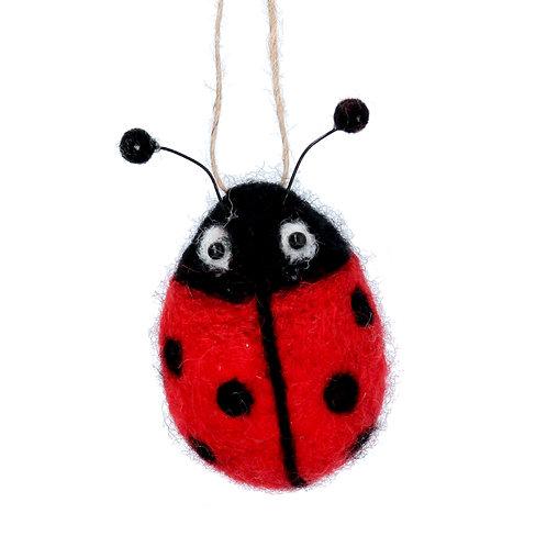 Wool Mix Ladybird