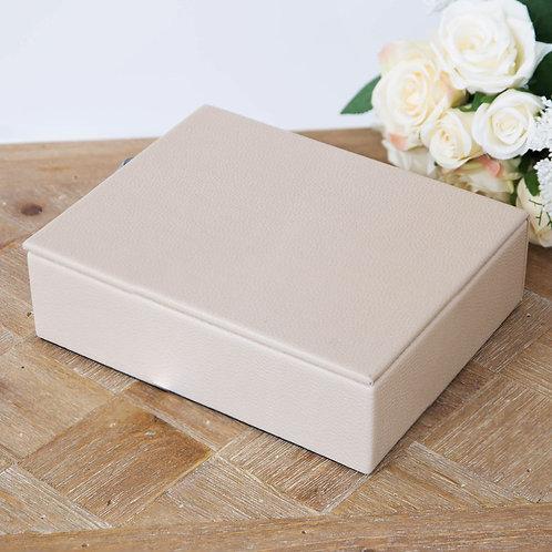 Medium Latte Jewellery Box