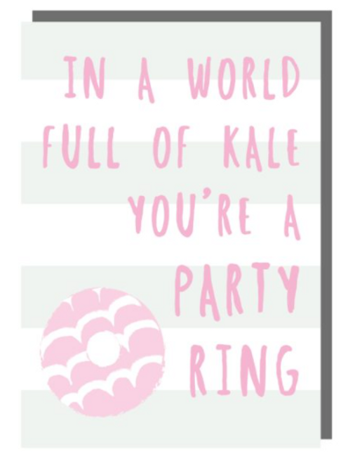 Party Ring Card