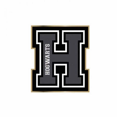 H For Hogwarts Enamel Pin Badge