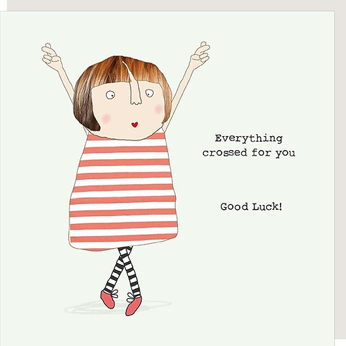 Good Luck Rosie made a thing card